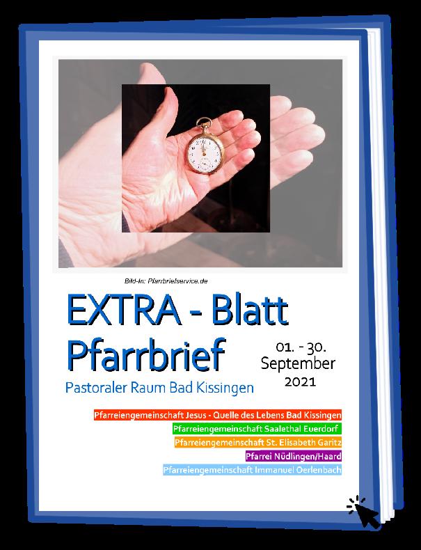 2021 Extrablatt 09 September Buch